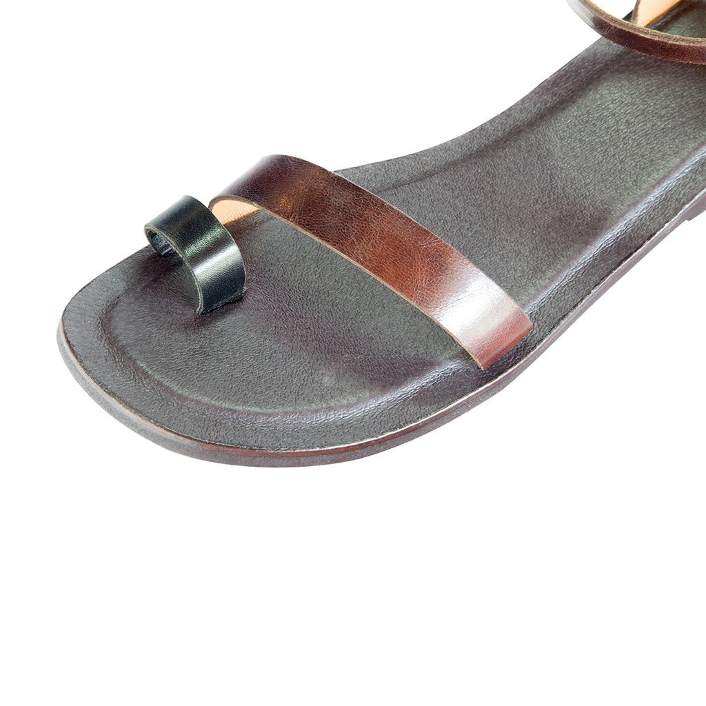 Ženske kožne sandale LEPOLIA