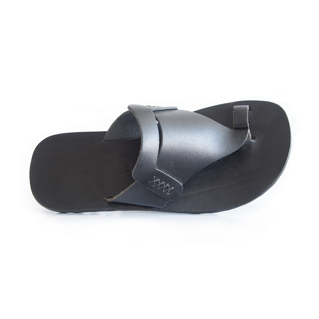 muška kožna papuča