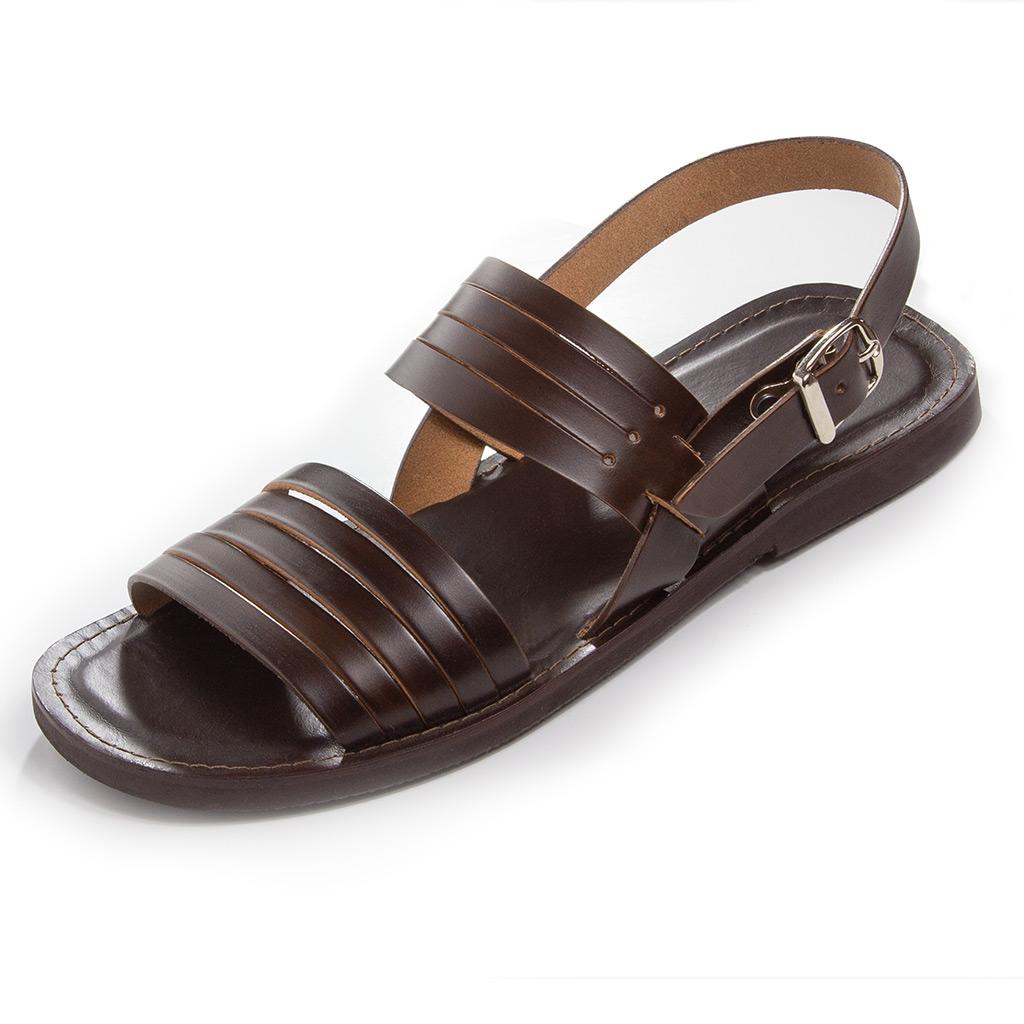 Muške Kožne Sandale Rimljenke